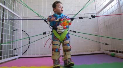 """Imagem da notícia: """"Vamos ser astronautas"""" na ajuda a crianças com paralisia cerebral"""