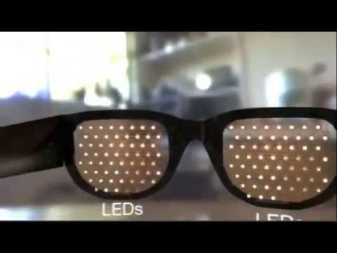 Imagem da notícia: Óculos dedicados a cegos