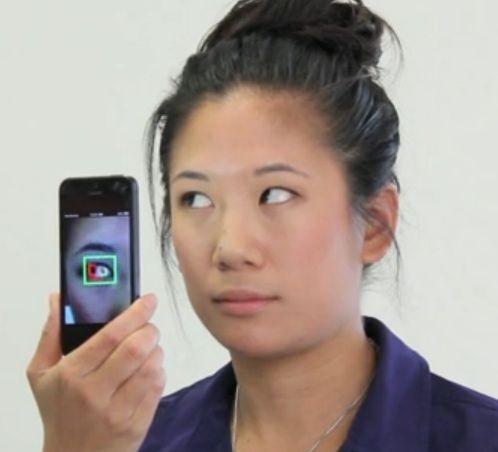 Imagem da notícia: Aplicação que analisa os olhos