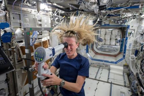 Imagem da notícia: Nasa testa olhos dos astronautas