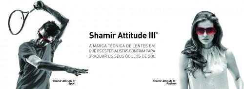 Imagem da notícia: Shamir Attitude III®: SPORT & FASHION