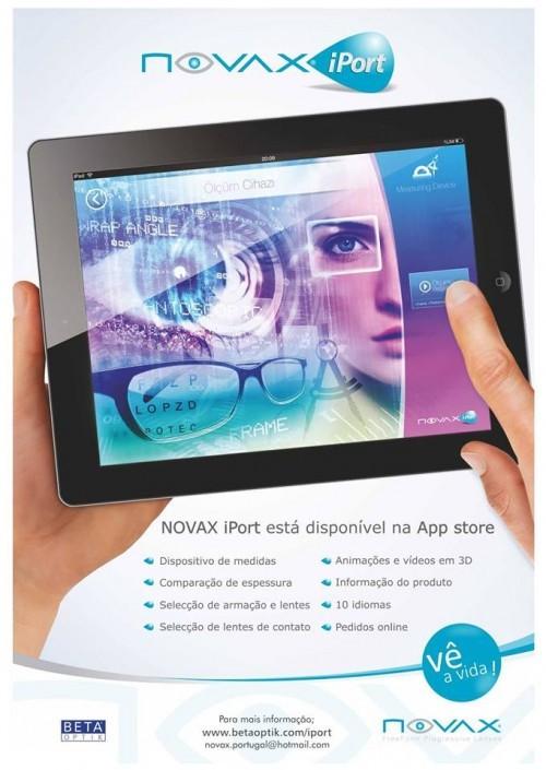 Imagem da notícia: Novax revela aplicação móvel