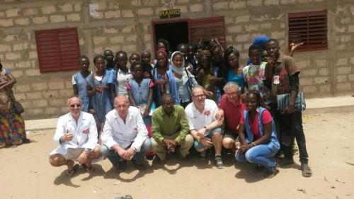 Imagem da notícia: Grupo Cione promove ação humanitária em África