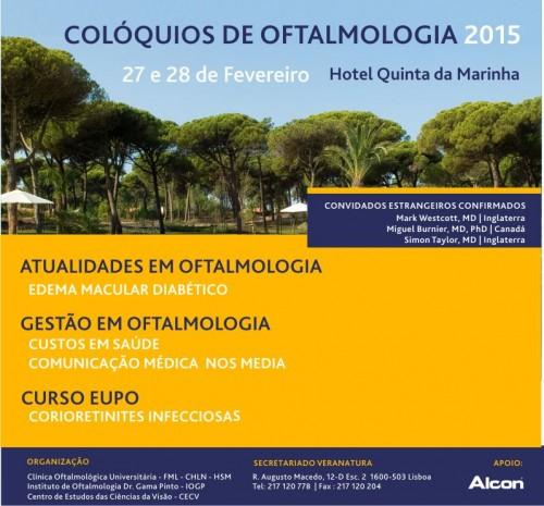 Imagem da notícia: Cascais recebe Colóquios de Oftalmologia