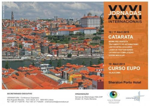 Imagem da notícia: Porto recebe XXXI Jornadas Internacionais de Oftalmologia