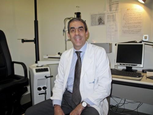 """Imagem da notícia: """"A oftalmologia foi uma escolha natural"""""""