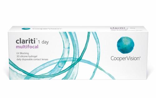 Imagem da notícia: CooperVision lançou novas Clariti 1 Day Multifocal