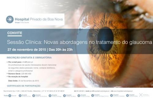 Imagem da notícia: Novas abordagens no tratamento do glaucoma decorre na sexta-feira