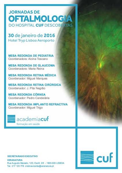Imagem da notícia: Jornadas de Oftalmologia do Hospital CUF Descobertas
