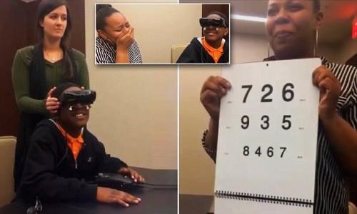 Imagem da notícia: Rapaz recupera visão com eSghit
