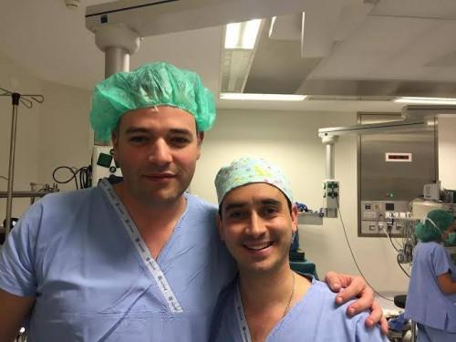 Imagem da notícia: Primeiro transplante de córnea realizado no CUF Porto Hospital