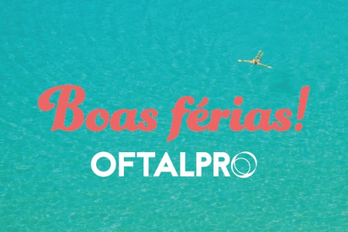 Imagem da notícia: OftalPro de férias!