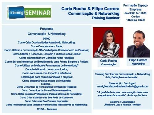 """Imagem da notícia: """"Training Seminar de Comunicação e Networking"""""""