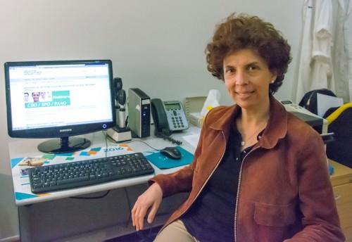 Imagem da notícia: Helena Prior Filipe e os cursos de oftalmologia online