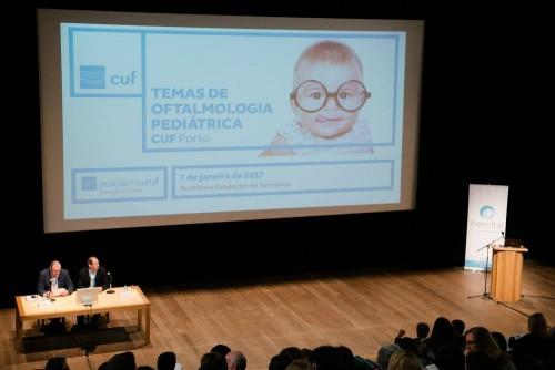 """Imagem da notícia: CUF Porto organizou """"Temas de Oftalmologia Pediátrica"""""""