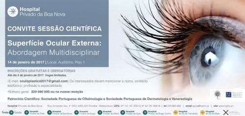 """Imagem da notícia: """"Superfície Ocular Externa: Abordagem Multidisciplinar"""" é amanhã"""