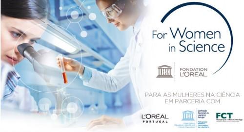 Imagem da notícia: For Women in Science