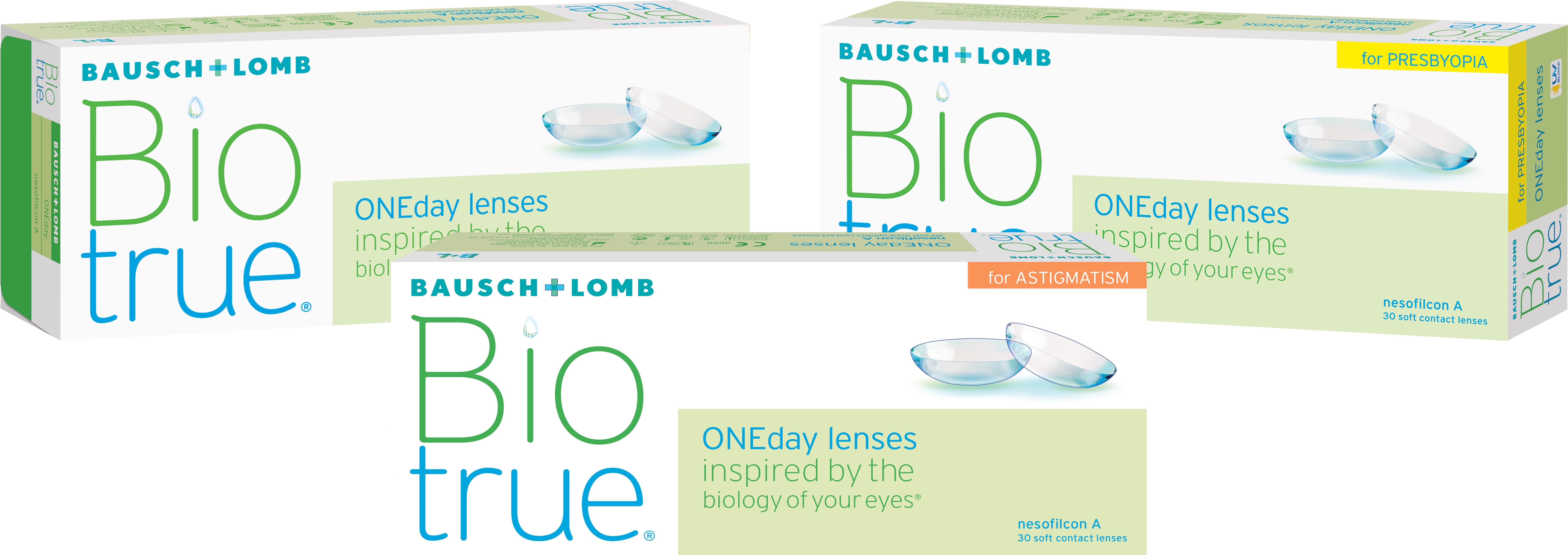 Imagem da notícia: Bausch+Lomb lança nova Biotrue® ONEday for Astigmatism