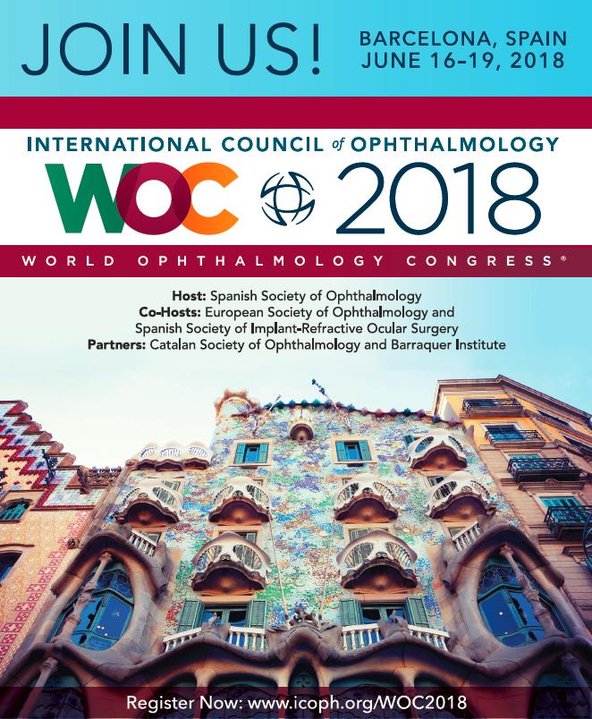 Imagem da notícia: Não perca o World Ophthalmology Congress