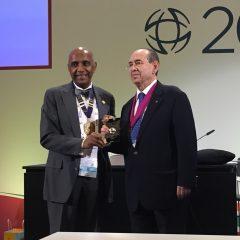 Imagem da notícia: José Cunha-Vaz distinguido pela Academia Ophthalmologica Internationalis
