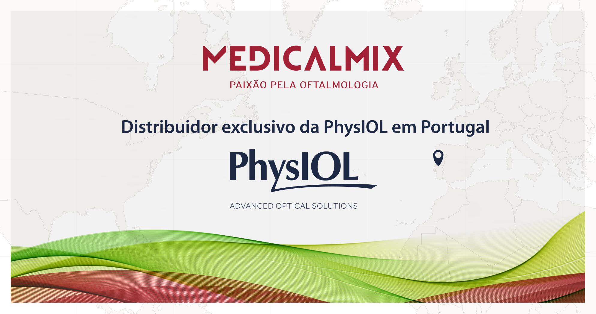 Imagem da notícia: MedicalMix e PhysIOL reforçam acordos de exclusividade