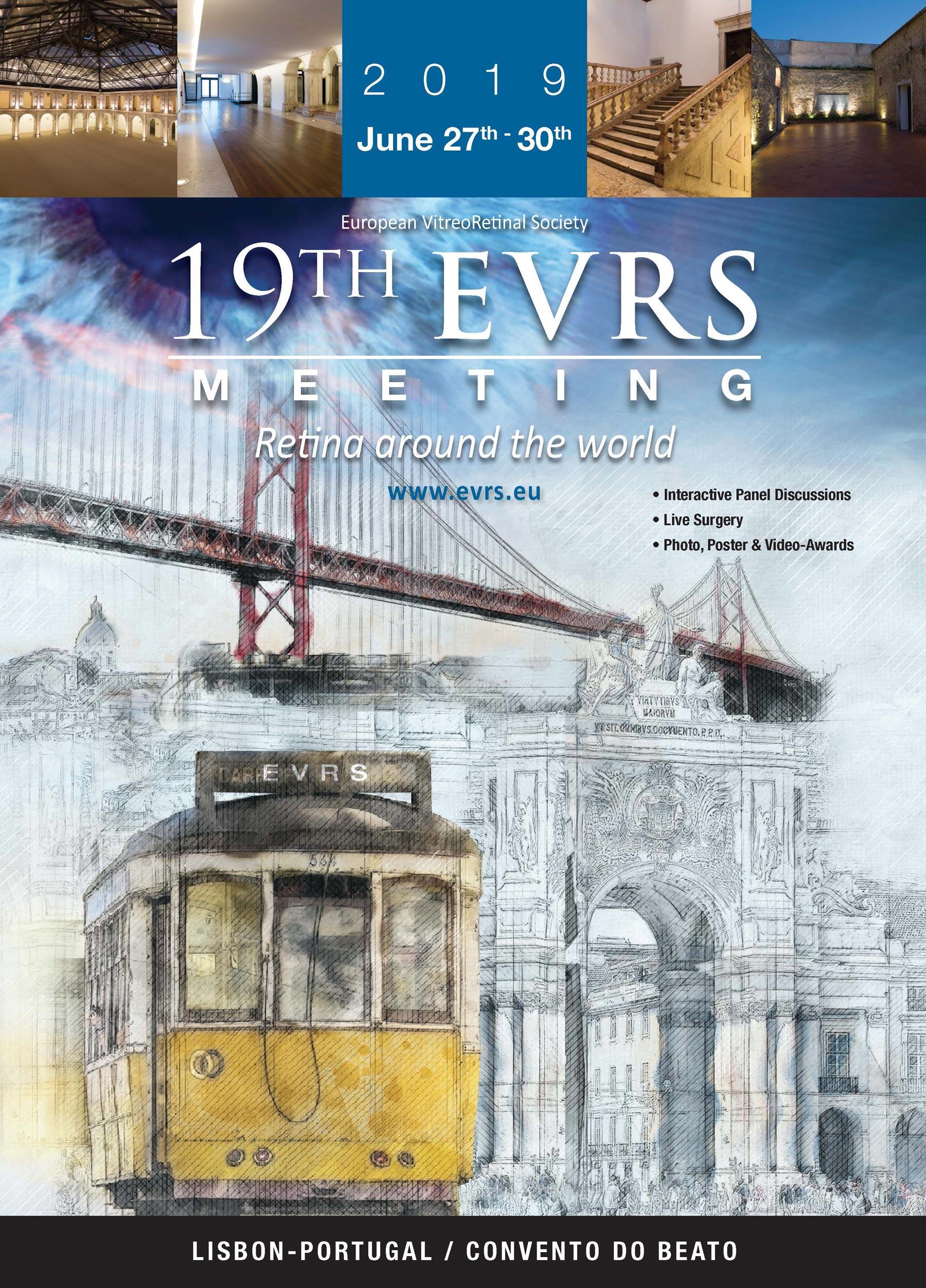 """Imagem da notícia: """"Retina around the world"""" no EVRS Meeting de Lisboa"""