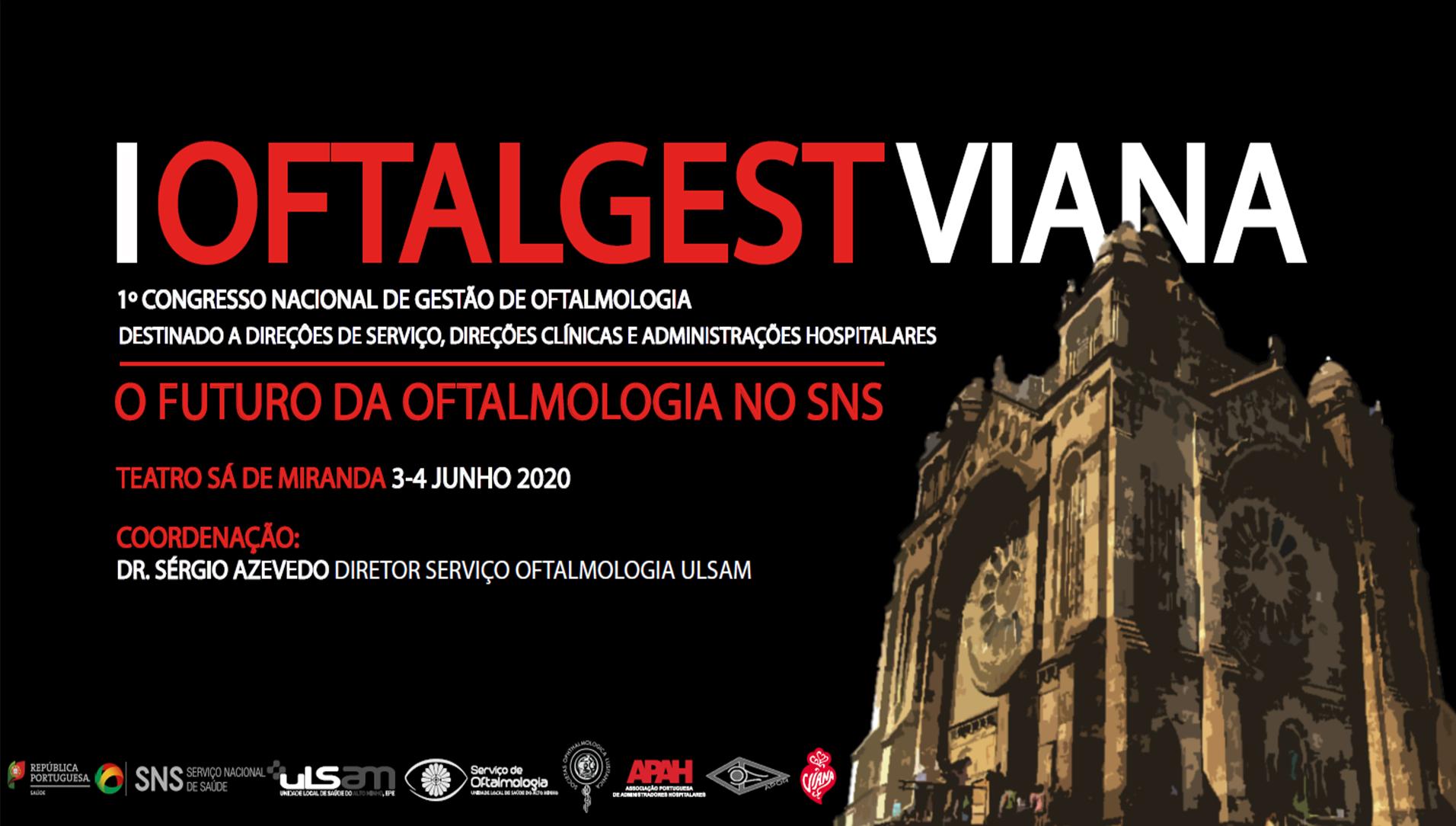 Imagem da notícia: I Oftalgest Viana debate o futuro da oftalmologia no SNS