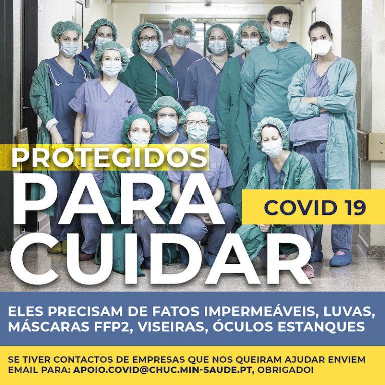 Imagem da notícia: Profissionais de saúde de Coimbra pedem ajuda
