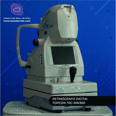 Imagem da notícia: Retinógrafo digital Topcon TRCNW300