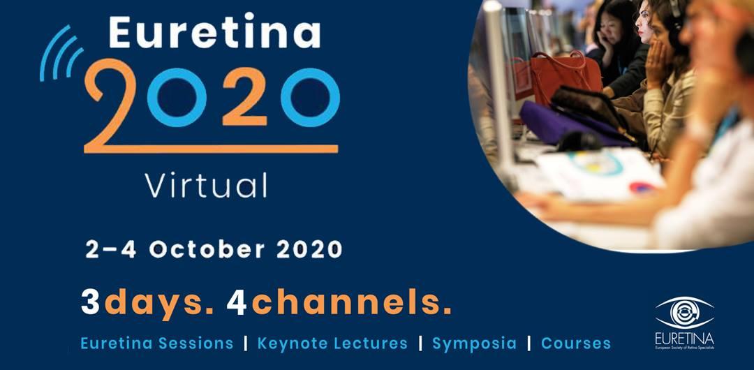 Imagem da notícia: EURETINA 2020 em formato online acontece já em outubro