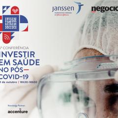"""Imagem da notícia: Conferência Janssen/Jornal de Negócios """"Investir em Saúde no Pós-COVID-19"""""""
