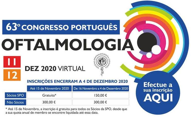 Imagem da notícia: 63º Congresso Português de Oftalmologia será digital