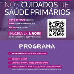 Imagem da notícia: Oftalmologia nos Cuidados de Saúde Primários em webinar