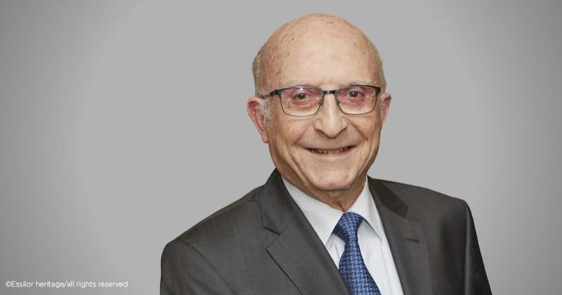 Imagem da notícia: Faleceu Bernard Maitenaz, inventor da primeira lente progressiva Varilux®
