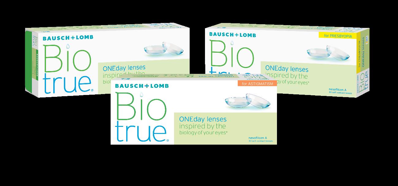 Imagem da notícia: Bausch+Lomb lança extensão da Biotrue® ONEday for Astigmatism