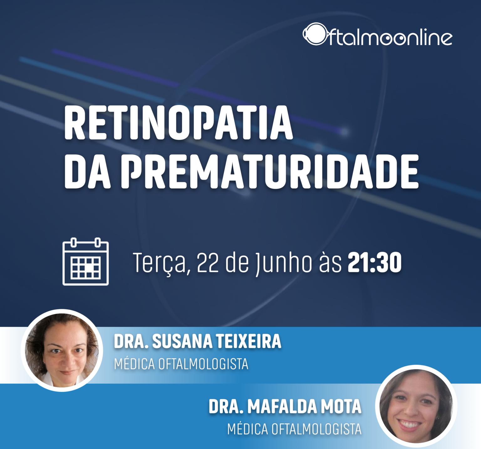 """Imagem da notícia: Webinar """"Retinopatia da prematuridade"""" acontece a 22 de junho"""