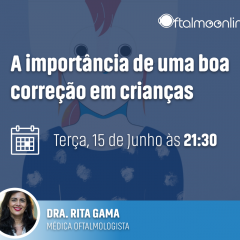 """Imagem da notícia: """"A importância de uma boa correção em crianças"""" é o tema do webinar com Rita Gama"""