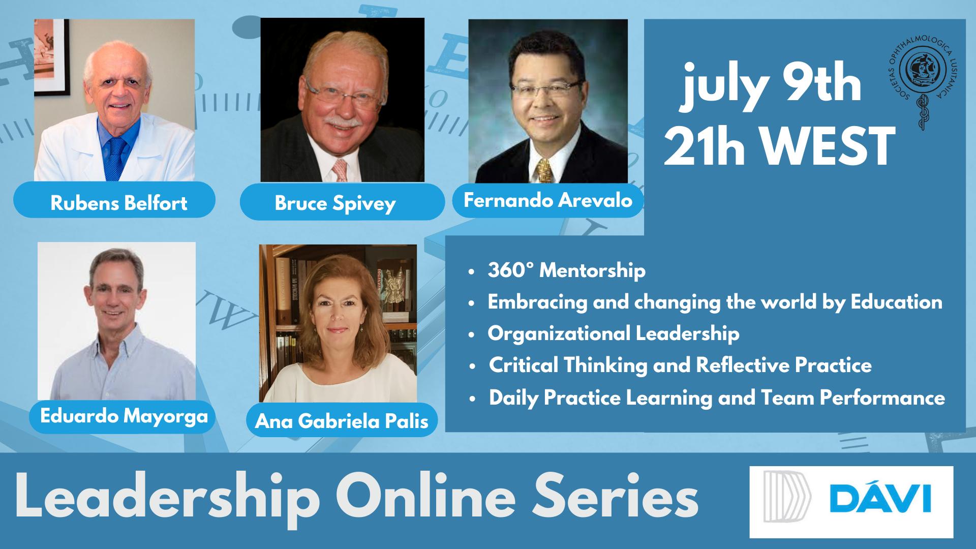Imagem da notícia: SPO com nova sessão de  Leadership Online Series esta sexta-feira