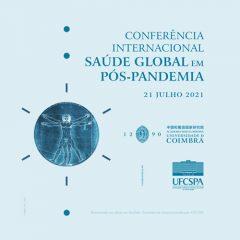 """Imagem da notícia: UC promove conferência internacional """"Saúde Global em Pós-Pandemia"""""""