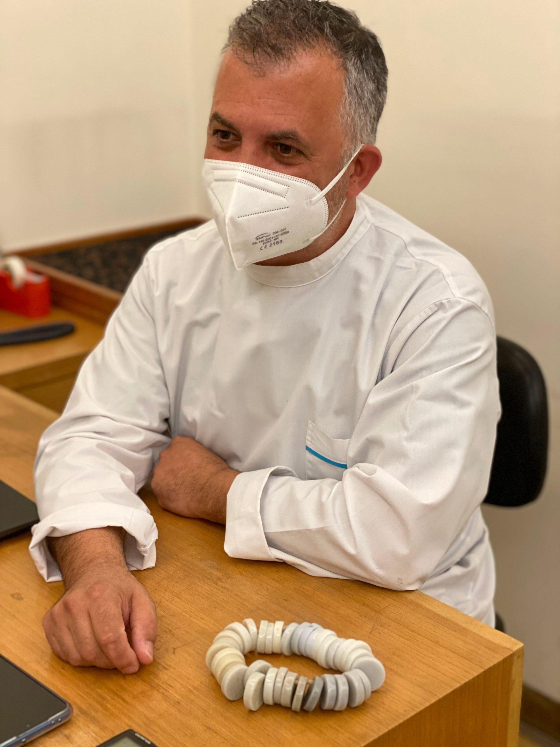 Imagem da notícia: Paulo Ferreira, ocularista na Moutinho Ópticas, em entrevista