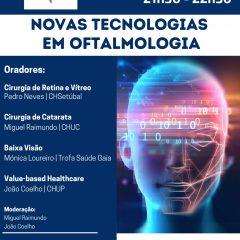 """Imagem da notícia: """"Novas Tecnologias na Oftalmologia"""" é o novo webinar das """"Quartas da SPO"""""""