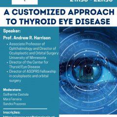 """Imagem da notícia: SPO propõe webinar sobre """"abordagem personalizada à doença oftalmológica da tiroide"""""""