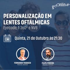 """Imagem da notícia: Webinar """"Personalização em Lentes Oftálmicas"""" acontece a 21 de outubro"""